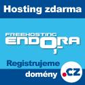 Webhosting Endora.cz