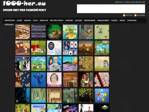 náhled webu 1000-her.eu