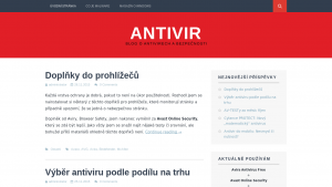 náhled webu antivir.8u.cz