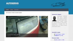 náhled webu auto-vagner.cz