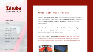 náhled webu autocalounictvi-zaruba.cz