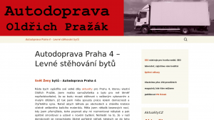 náhled webu autodoprava-praha.4fan.cz