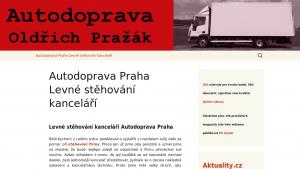 náhled webu autodoprava-praha.6f.sk