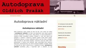 náhled webu autodoprava-praha.8u.cz
