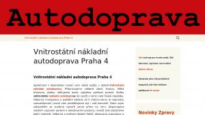 náhled webu autodoprava-praha.hys.cz