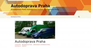 náhled webu autodoprava-praha.mzf.cz