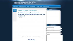 náhled webu autodoprava.tode.cz