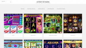 náhled webu automaty-hry-zdarma.info