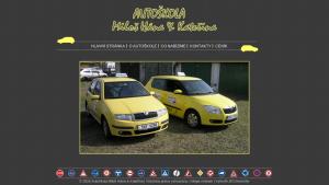 náhled webu autoskolamiloshana.cz
