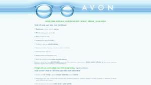 náhled webu avon-registrace.cz
