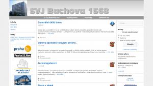 náhled webu bachova1568.cz
