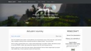 náhled webu basicland.cz