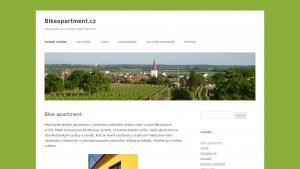 náhled webu bikeapartment.cz