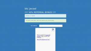 náhled webu btc.jecool.net
