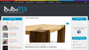 náhled webu bubofix.sk