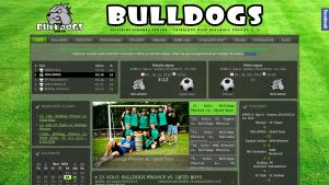 náhled webu bulldogs.hys.cz