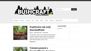 náhled webu bushcraft.funsite.cz