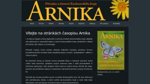 náhled webu casopis-arnika.cz