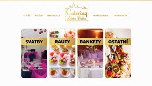 náhled webu catering-zlatapraha.cz