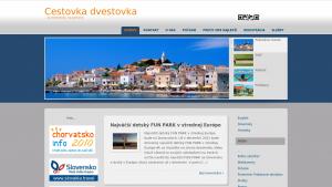 náhled webu cestovkadvestovka.maweb.eu