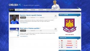 náhled webu chelseafc.bluefile.cz
