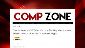 náhled webu compzone.g6.cz