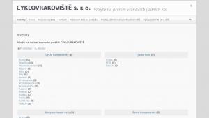 náhled webu cyklovrakoviste.cz