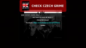 náhled webu czechgrime.4fan.cz
