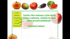 náhled webu dekoracezovoce.g6.cz