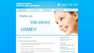 náhled webu dentalna-hygiena.6f.sk