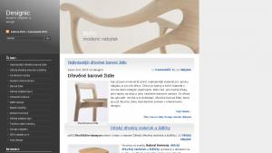 náhled webu designic.cz