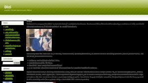 náhled webu dizi.funsite.cz