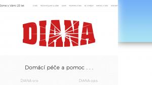 náhled webu domacipomoc-diana.cz