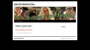 náhled webu driftsamp.clanweb.eu