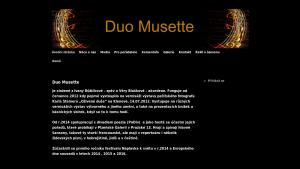 náhled webu duo-musette.cz