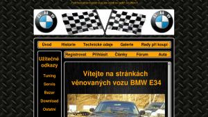 náhled webu e34.g6.cz