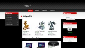 náhled webu electro.hys.cz