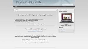 náhled webu elektricky.cz