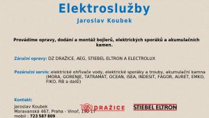 náhled webu elektrosluzby-koubek.8u.cz