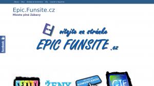 náhled webu epic.funsite.cz