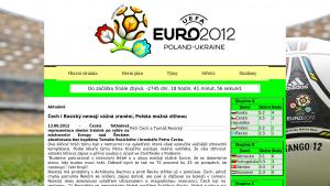 náhled webu euro2012.4fan.cz