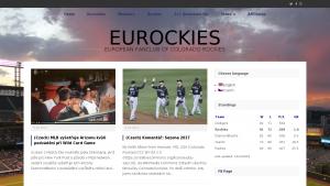 náhled webu eurockies.eu