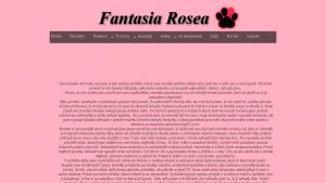 náhled webu fantasia-rosea.g6.cz