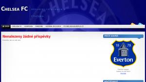 náhled webu fcchelsea.bluefile.cz