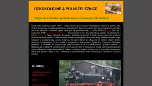 náhled webu feldbahn.hys.cz