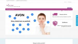 náhled webu femineshop.cz