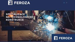 náhled webu feroza.cz