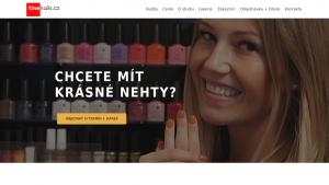 náhled webu finenails.cz