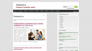 náhled webu fininvest.cz