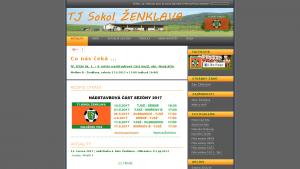 náhled webu fotbal-zenklava.4fan.cz